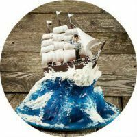 How to make a cake in the form of a ship