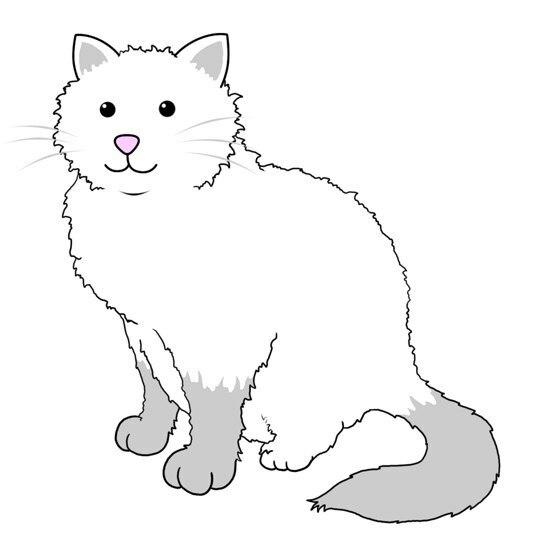 Download 78+  Gambar Sketsa Kucing Duduk Paling Keren HD