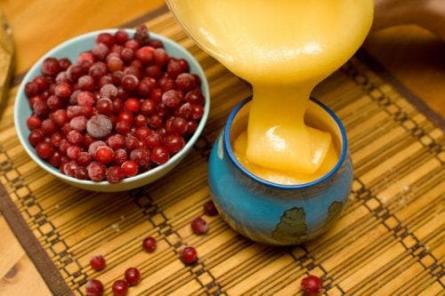 cranberry with honey