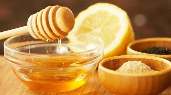 Honey composition against dry cough