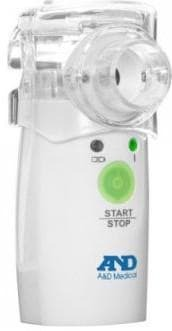 ultrasonic inhaler with heating