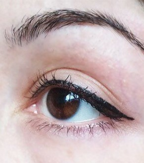 permanent make-up eyelids