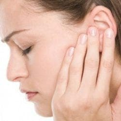 inflammation of the ears