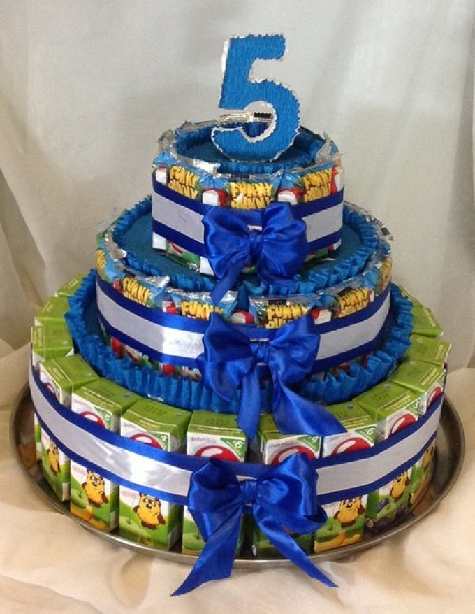 Come fare una torta per bambini dal succo all'asilo, per ...