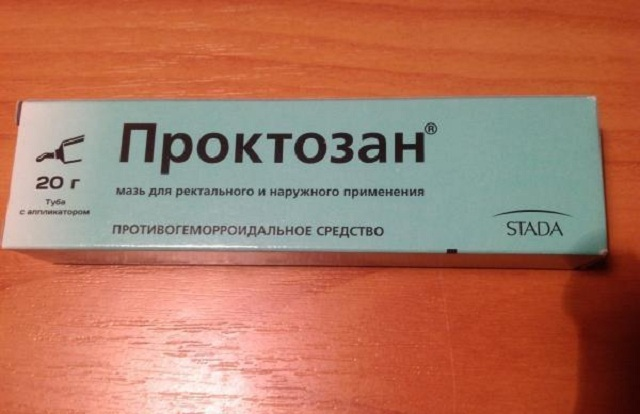 ointment from hemorrhoids proctosus