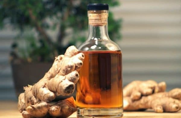 alcoholic tincture of ginger