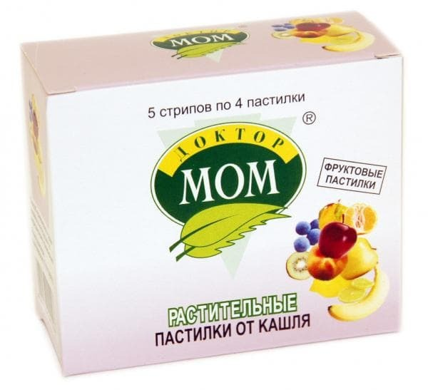 Doctor Mom pastilles composition