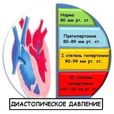 systolisk og diastolisk