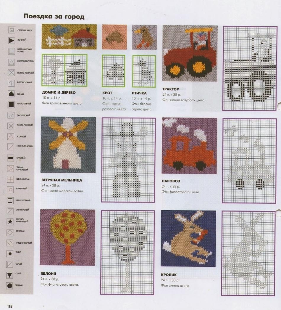 Cómo atar hermosos mitones para niños con agujas de tejer: patrones ...