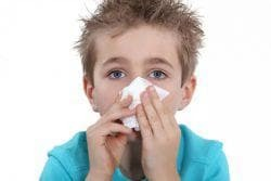 the child does not breathe a nose without a snot