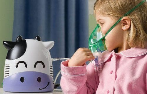 using a nebulizer for a child
