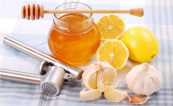 Honey from the common cold in children