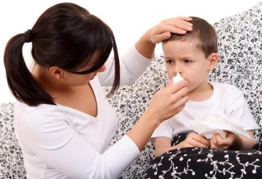 how to treat sinusitis in a child 3 years old