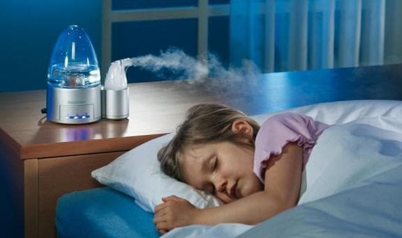 Humidification of air - this will help a special humidifier