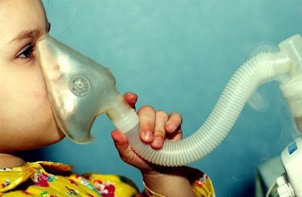 inhalation with laryngitis nebulizer preparations