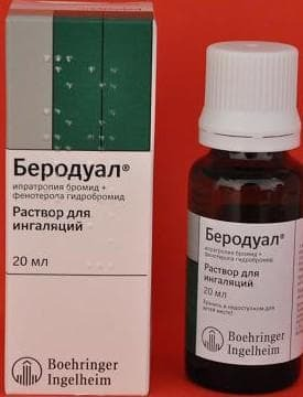 Berodual for inhalation