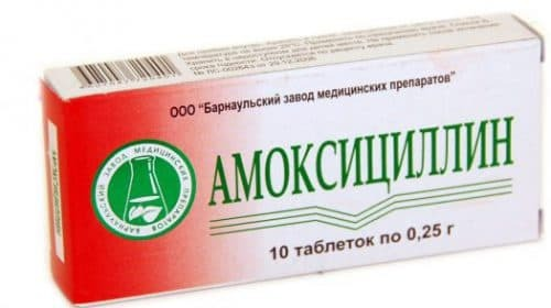 amoxicillin for colds