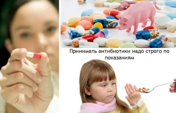 antibiotics for children with cough and cold