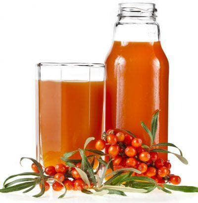 juice of sea-buckthorn and ginger