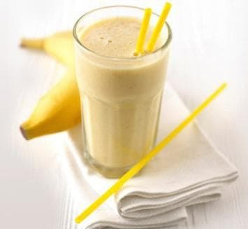 banana cocoa milk from cough