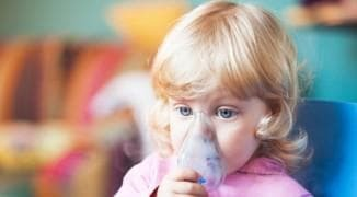 bronchial asthma in a child