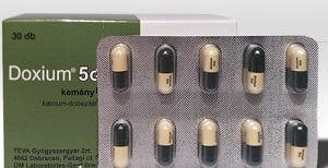Capsules of the preparation