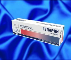 Heparin ointment