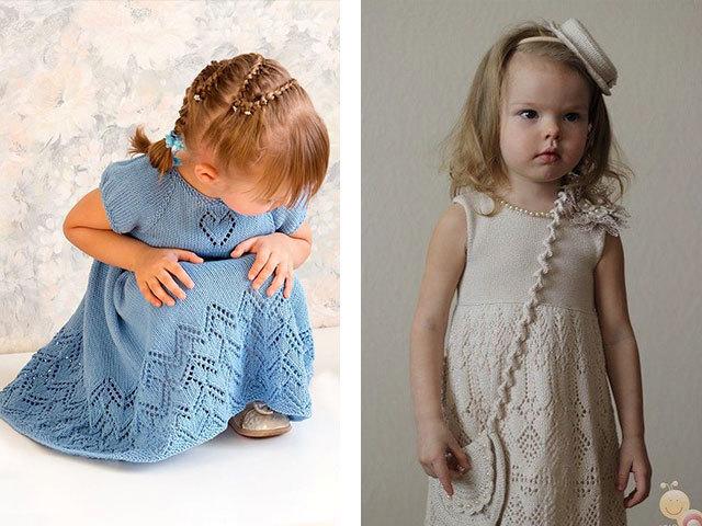 Вязание маленьким девочкам для лета 37